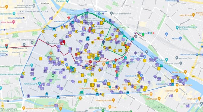 Interaktiver Stadtplan der Luisenstadt