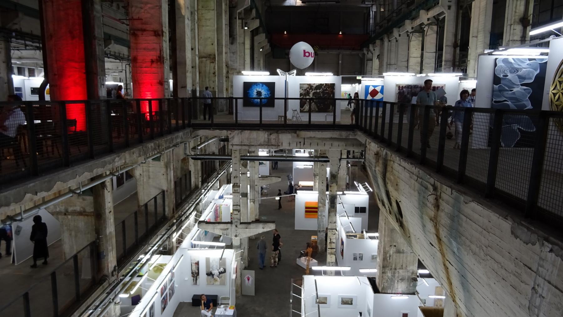 Ausstellung Berliner Liste im Kraftwerk Berlin Mitte