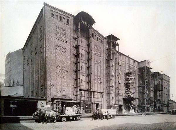 Kühlhäuser der Eisfabrik: Abgerissen!