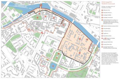 Sanierungsgebiet und Erhaltungsgebiete Nördliche Luisenstadt