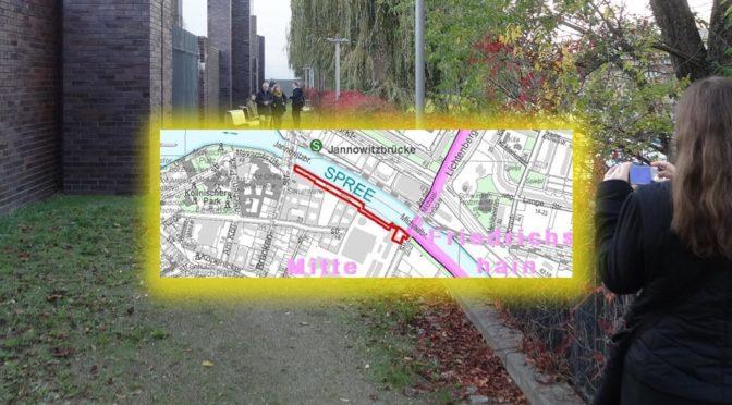 Spreeufer WEST Nördliche Luisenstadt – Bebauungsplan 1-81 öffentlich