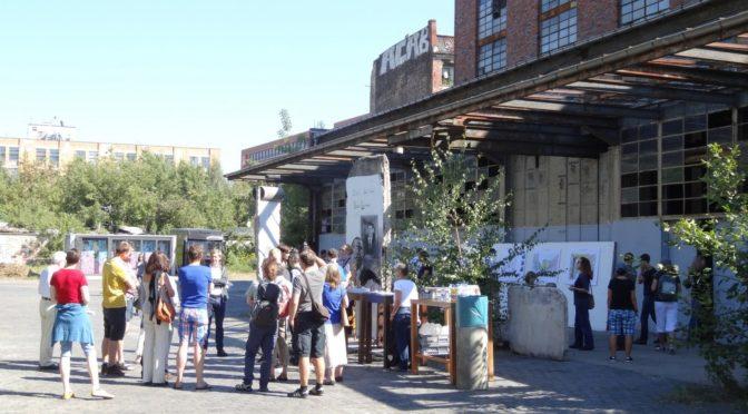 Oktober 2020: Vor-Ort Begehung der Köpenicker Straße